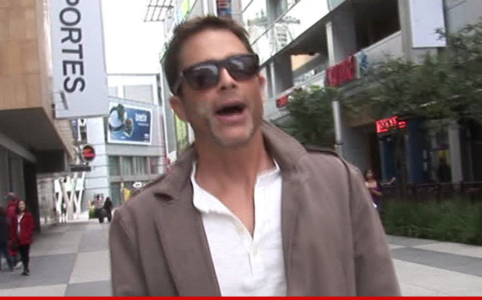 Rob Lowe — If Sony Ran WWII, Hitler Would Have Won
