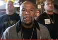 Floyd Mayweather Jr. -- Everybody Was Peeing ... So I Peed Too!