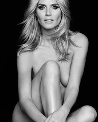 Las Vegas Airport Bans Naked Heidi Klum Ads Over Model's Bare B