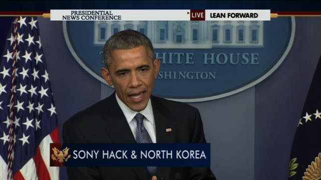 "President Obama — Sony Made the Wrong Call By Pulling ""The Interview"" [VIDEO]"