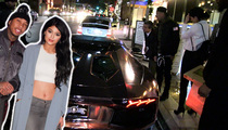 Kylie Jenner & Tyga -- Get Locked Out on Date Night