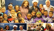Ray Rice -- CHARITY BLITZKRIEG ... In Image Makeover Campaign