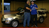WWE Star Sheamus -- Goes Back In Time ... Buys DeLorean