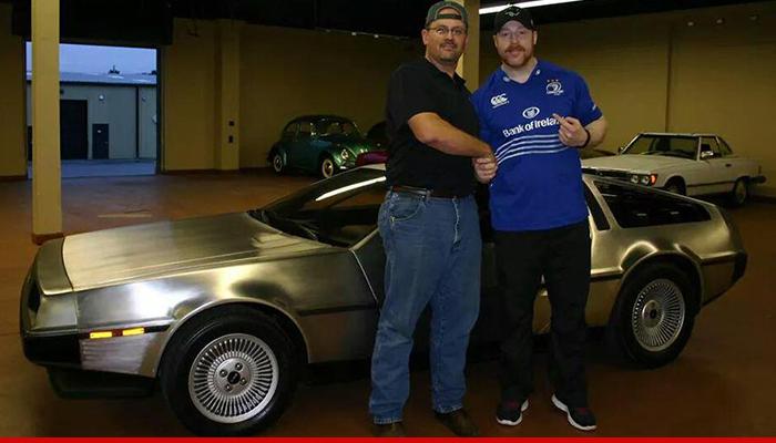 WWE Sheamus DeLorean