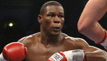 Boxer Jermain Taylor -- Throws Brick at Woman ... Cops Called