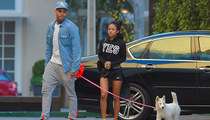 Chris Brown -- Doing Couples Stuff ... It's a Bitch
