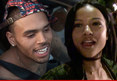 Chris Brown and Karrueche Tran -- Working It Out ... After Nightclub Sweet-Talking Sessio