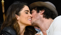 Nikki Reed & Ian Somerhalder Show Major PDA At Lakers Game