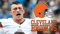 Johnny Manziel -- 'He's Not a Bad Teammate' ... Says Browns Player