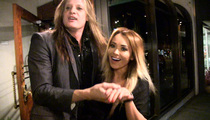 Skid Row's Sebastian Bach -- No Wasted Time ... Rings Up New GF (VIDEO)