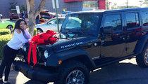 Jordin Sparks -- Swanky New Jeep ... Cures Break-Up Blues
