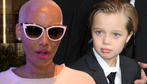 Amber Rose -- Applauds Brad Pitt and Angelina Jolie for Raising a 'TransKid'