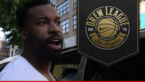 Baron Davis -- Producing Basketball Documentary ... Hollywood Career Underway