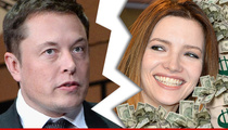 Elon Musk -- Billionaire Files for Divorce ... Wife Gets MILLIONS!!