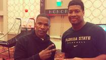 When Jameis Winston ... Met Jamie Foxx