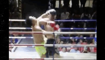 Jay Z -- Witnessed INSANE Thai Fight K.O. .... ELBOW TO THE FACE!
