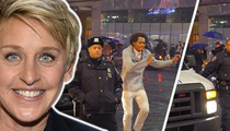'Ellen' Dance Dare -- Just a Suggestion ... Leave Cops Out of the Picture