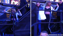 Taylor Swift -- Nearly Begins 2015 ... ON HER ASS (VIDEO)
