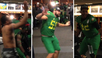 Oregon Ducks -- Locker Room Dance Party ... After Destroying FSU
