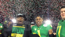 Jameis Winston -- Taunted By Oregon Players ... 'No Means No'