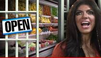 Teresa Giudice -- Welcome to Club Fed ... Enjoy Your Ice Cream!