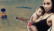Ciara -- Check Out My Amazing Floating Baby!