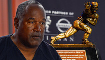 OJ Simpson -- Stolen Heisman Recovered ... Thief Still On the Loose