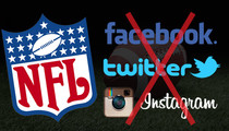 NFL -- Threatens Businesses Over Social Media Pics ... There's a 6-Player Limit