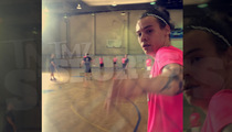 Harry Styles -- CHAI STICKING ... Plays Hockey at Jewish Center