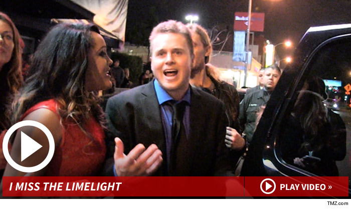 Spencer Pratt Misses Being Famous