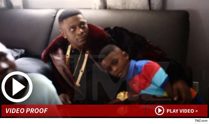 Lil Boosie Photoshopped Pic Son