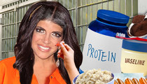 Teresa Giudice -- Prison Beauty Regimen ... Coffee Grinds and Vaseline