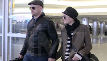 Robin Wright -- Holding Hands and Travelling With Ex-BF Ben Foster