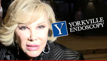 Joan Rivers -- Yorkville Clinic No Longer Up to Snuff for the Federal Government