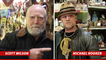 'Walking Dead' Stars Hershel & Merle -- Forget Zombies ... We're Voodoo Curious Now!