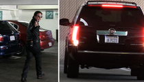 Brad Pitt ... Has 'B PITT' License Plate ... Or Does He? (VIDEO)