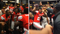Ohio State -- Locker Room Dance Party ... After National Championship