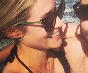 Kristin Cavallari Cuddles Up To J