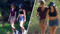Taylor Swift -- Good Lorde ... We're Going Hiking! TMZ TV