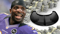Super Bowl Champ Bernard Pollard -- RAKING IN THE DOUGH ... From Sink Shelf Invention