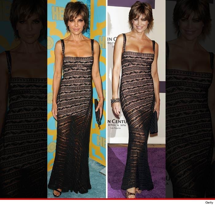 Lisa Rinna Same Dress