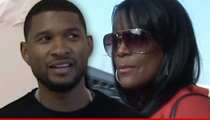 Usher's Ex-Wife Tameka -- Congrats! My Kids Can Be In Your Wedding