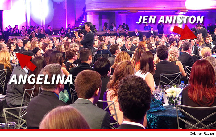 Jennifer Aniston Angelina Jolie Critics Choice Awards