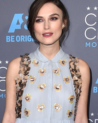 Keira Knightley Conceals Baby Bump In A Chic Flowy Dress At Critics' Choice Awards