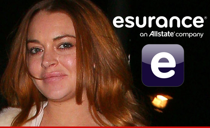 Lindsay Lohan Esurance Commercial