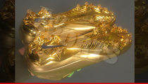 Marshawn Lynch -- NFL Puts Its Foot Down ... Over Gold Cleats