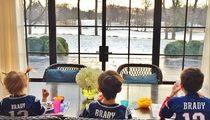 Tom Brady's Kids -- LET'S GO DADDY!