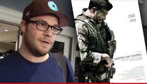 Seth Rogen -- Compares 'American Sniper' to Fake Nazi Propaganda Movie