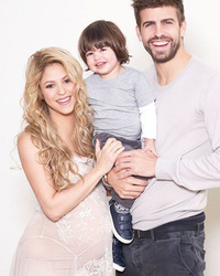 "Shakira Flaunts Baby Bump at ""World Baby Shower"" -- See How Big Son Milan is Now!"