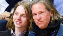 Val Kilmer Brings Lookalike Son Jack to Clippers Game